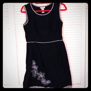 {Vintage} Sleeveless pinup a-line dress w/gingham